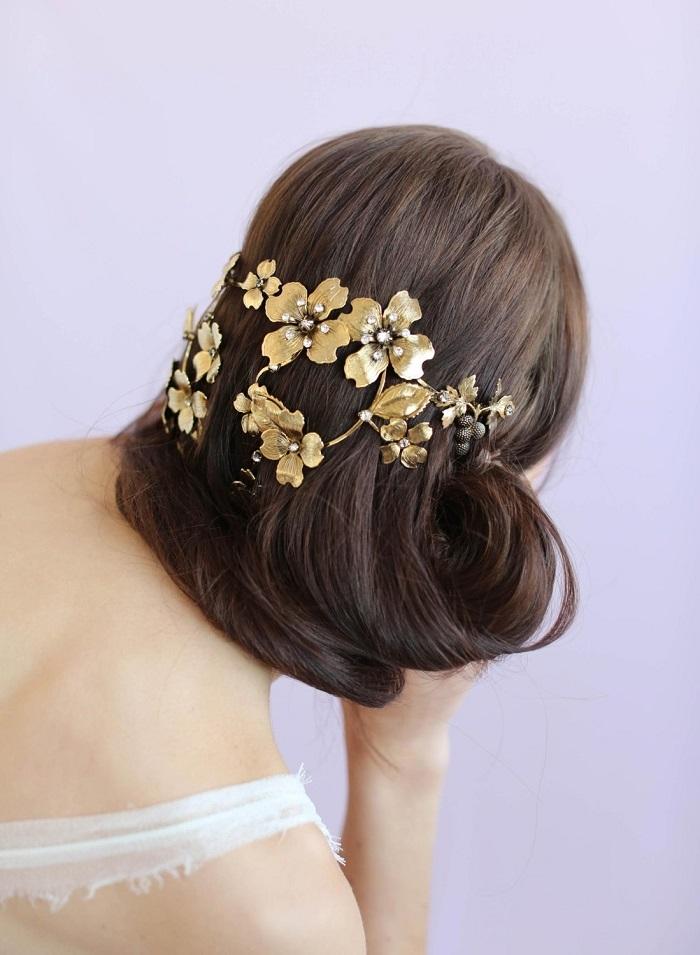 Flower-Reverse-Crown-Headpiece