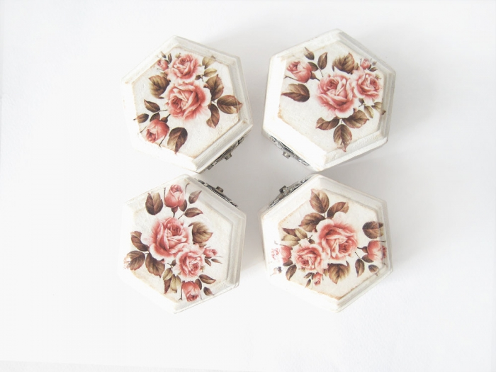 Geometric Bridesmaids Gift Boxes