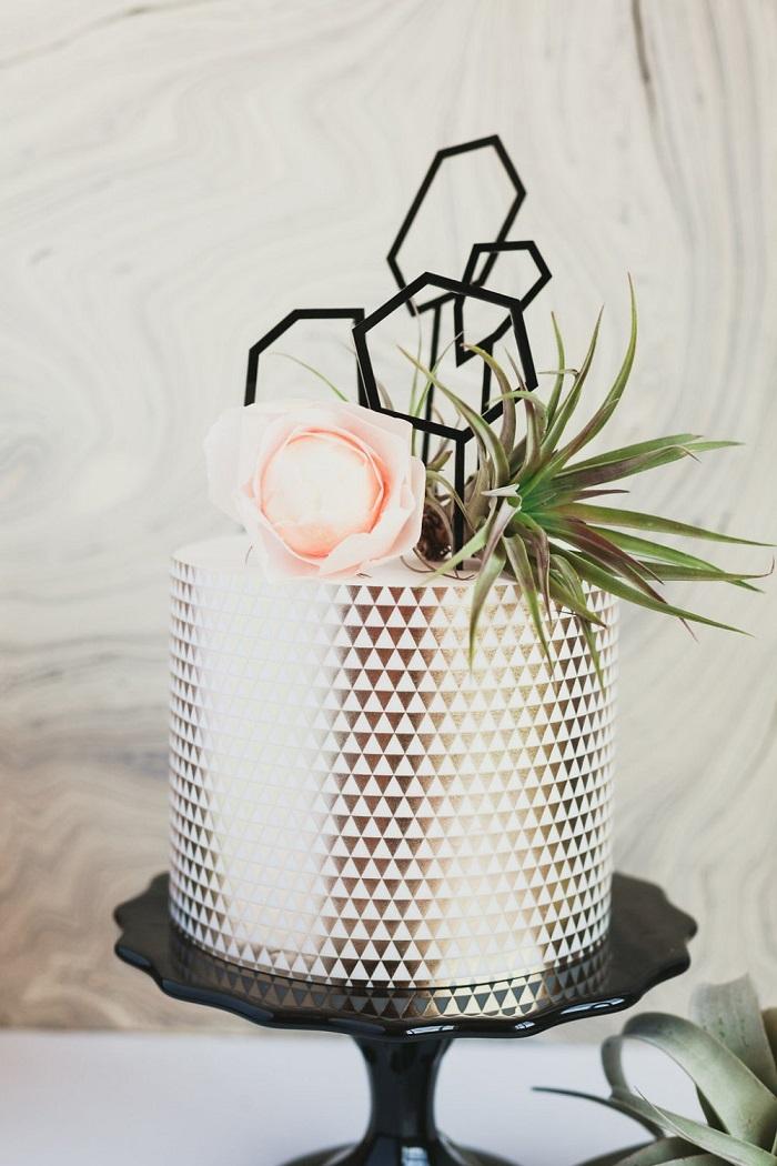 Geometric-Shapes-Cake-Topper