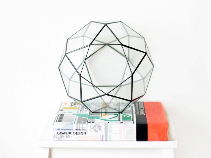 Geometric Terrarium Centerpiece