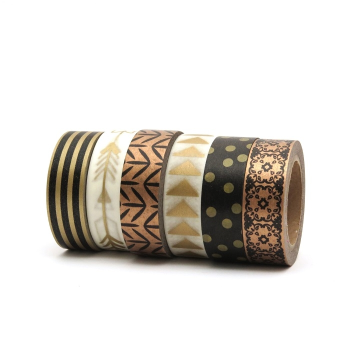 Gold-Black-Washi-Tape