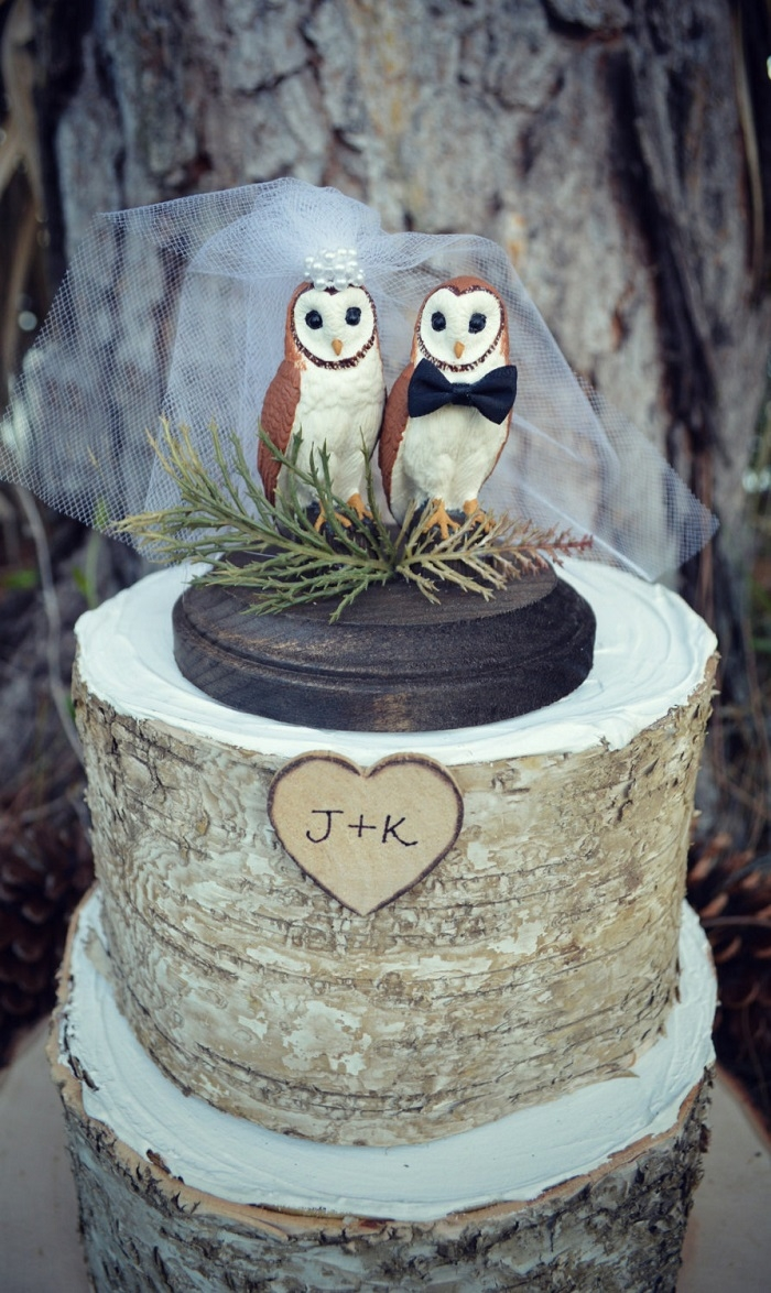 owl wedding cake 11 awesome cake toppers from etsy 18099