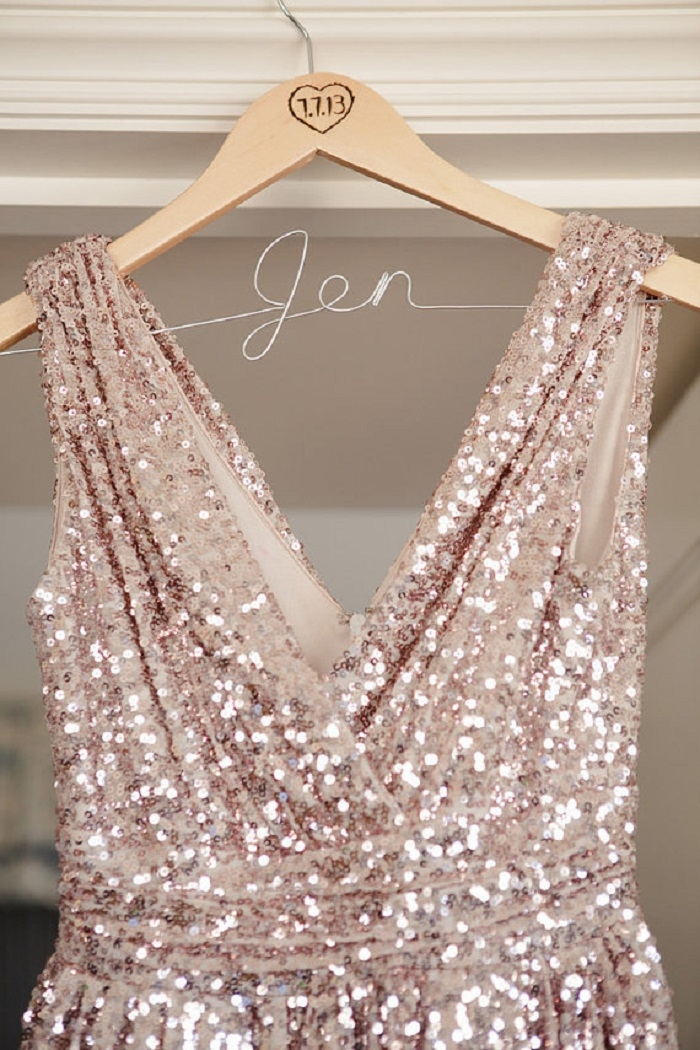 Short-Sequin-Bridesmaids-Dress