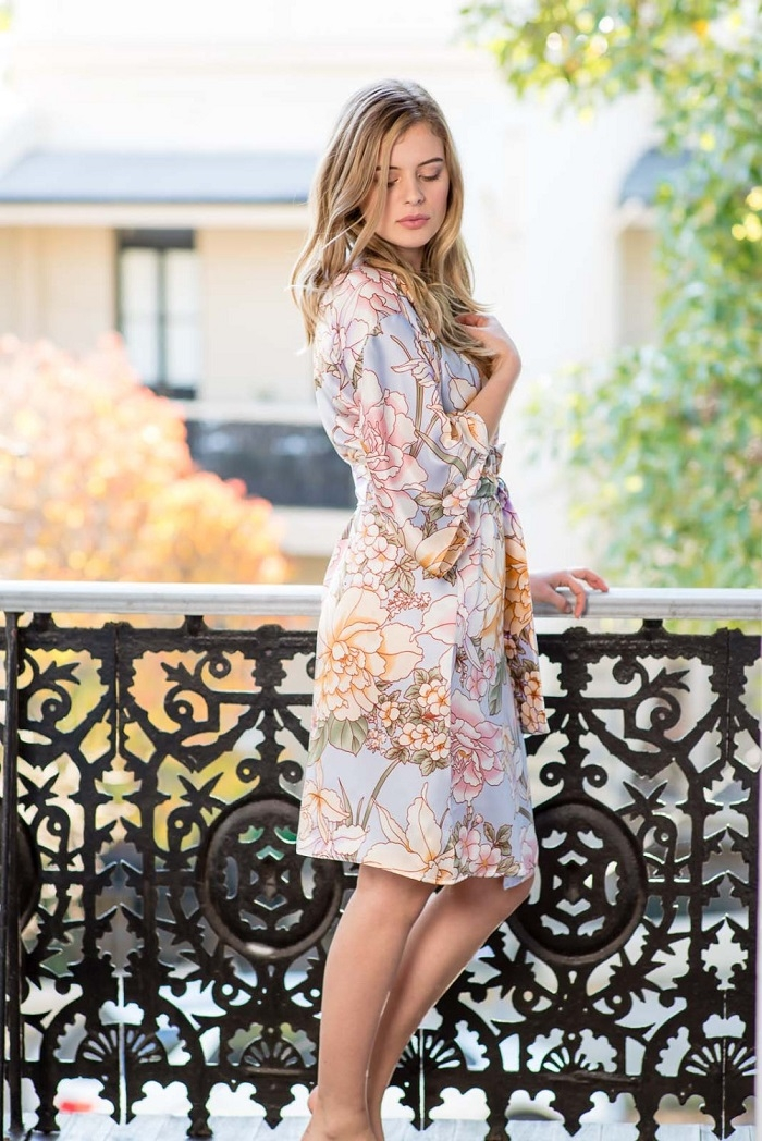 Silk-Floral-Bridesmaid-Robe