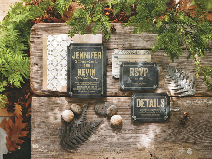 Real couples and real inspiration from wedding paper divas wedding paper diva invitation junglespirit Gallery