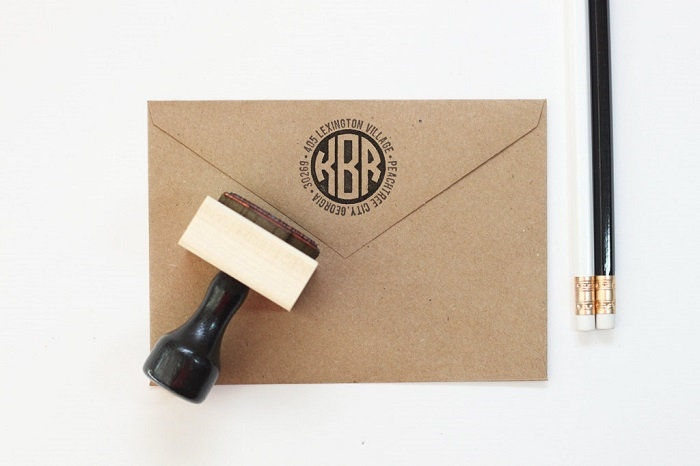 Modern-Wedding-Address-Mail-Stamp