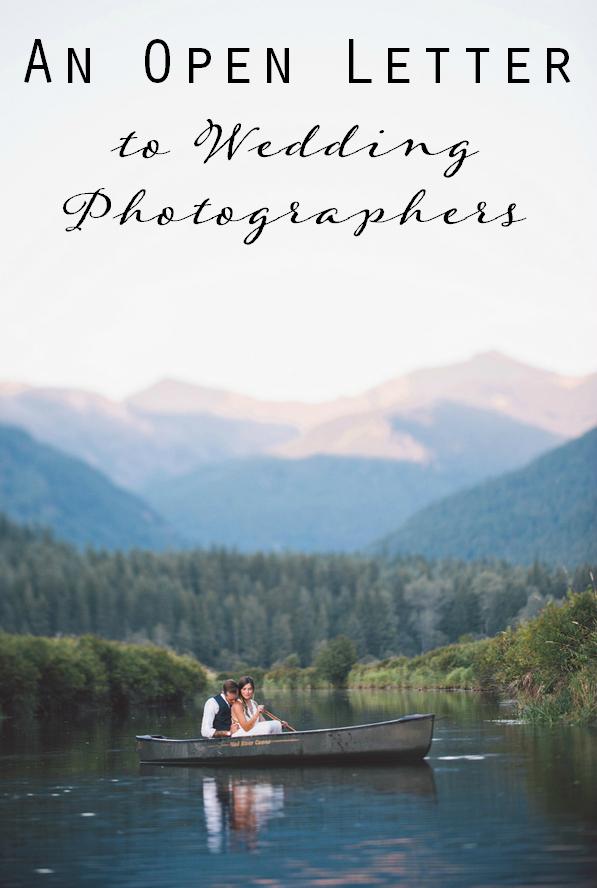 open letter photographers