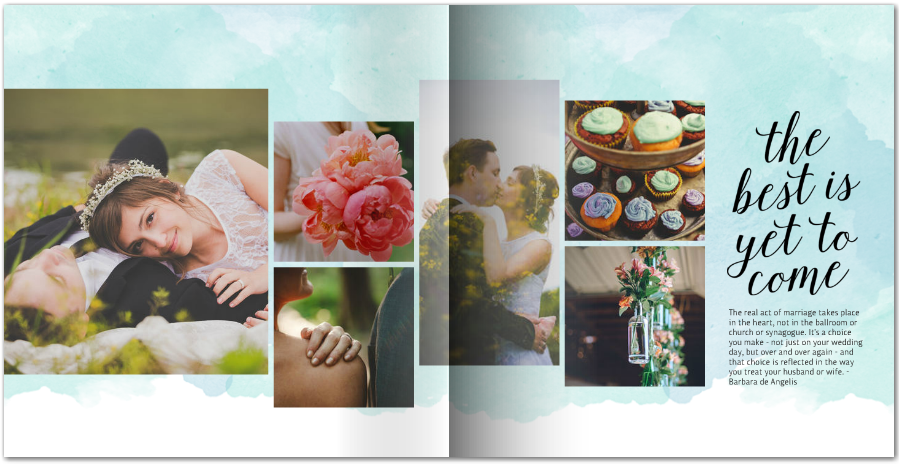 Watercolor-Wedding-Photo-Book