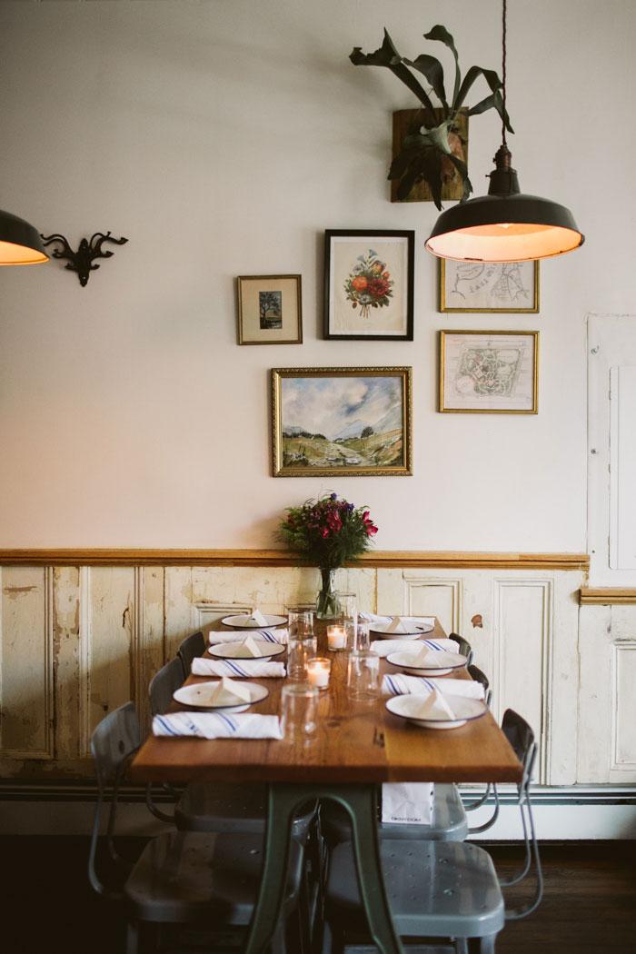 Martha restaurant interior
