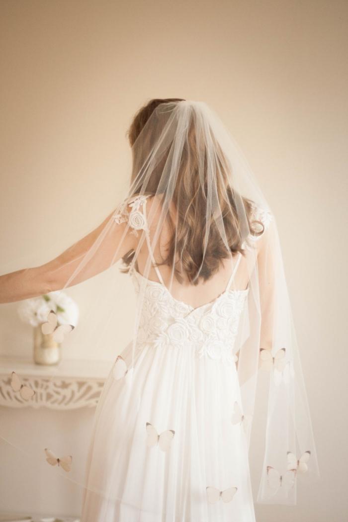 butterfly veil