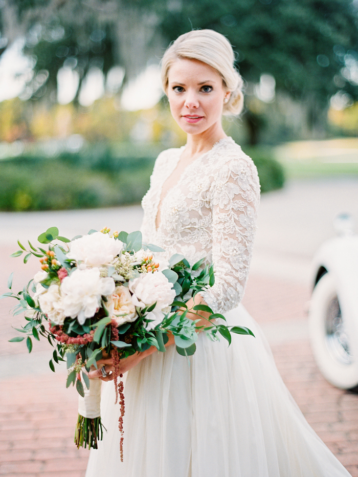 Charleston South Carolina Golden Hour Intimate Wedding Styled