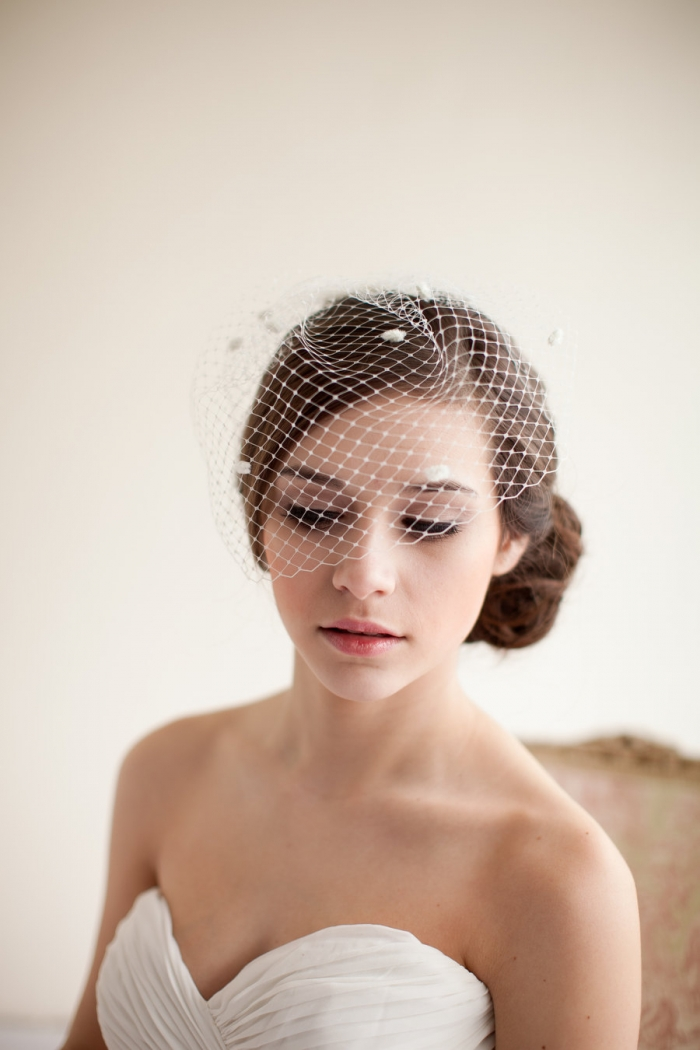 Melinda Rose Design bridal veil shoot. Atlas and Elia Photography.