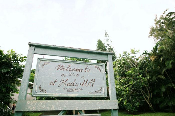 Haiku Mills Sign