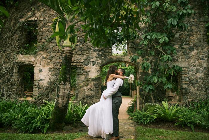 Haiku Mills wedding portrait