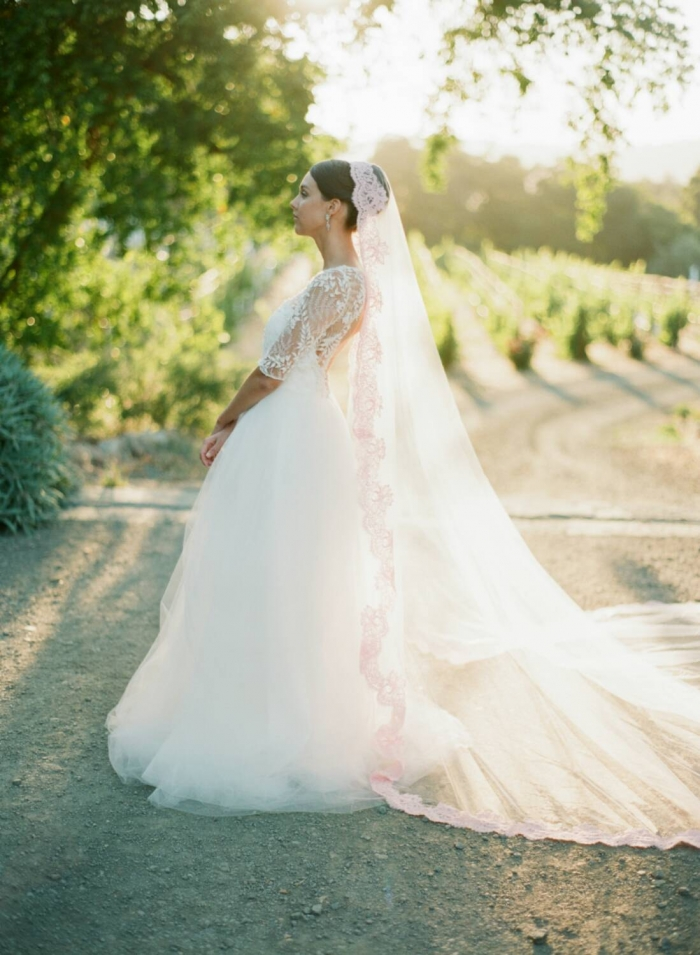 http://www.intimateweddings.com/wp-content/uploads/2016/03/pink-cathedral-veil-700x955.jpg