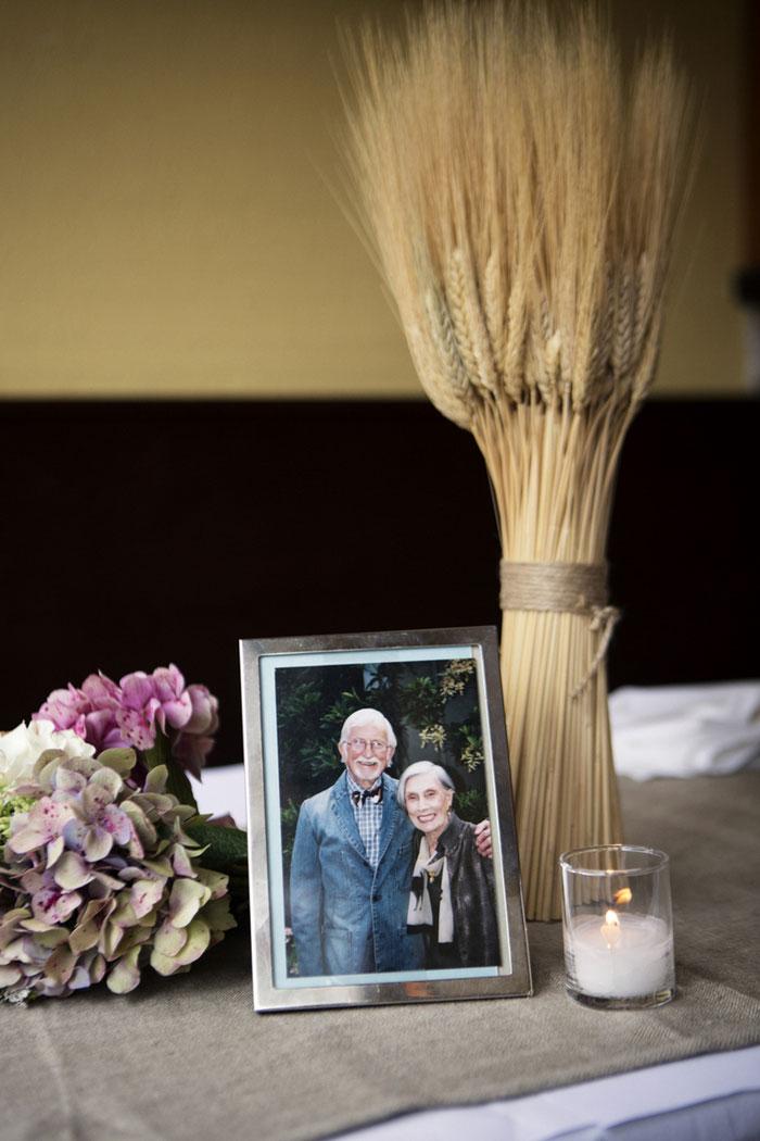 wedding memorial table