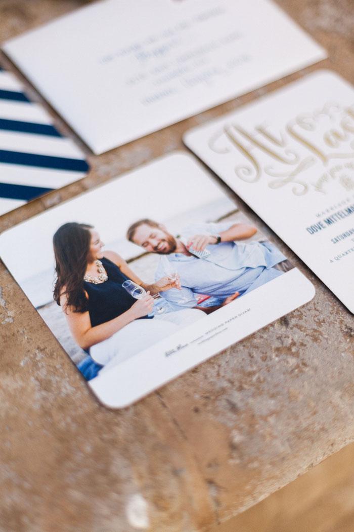 photo invitation suite