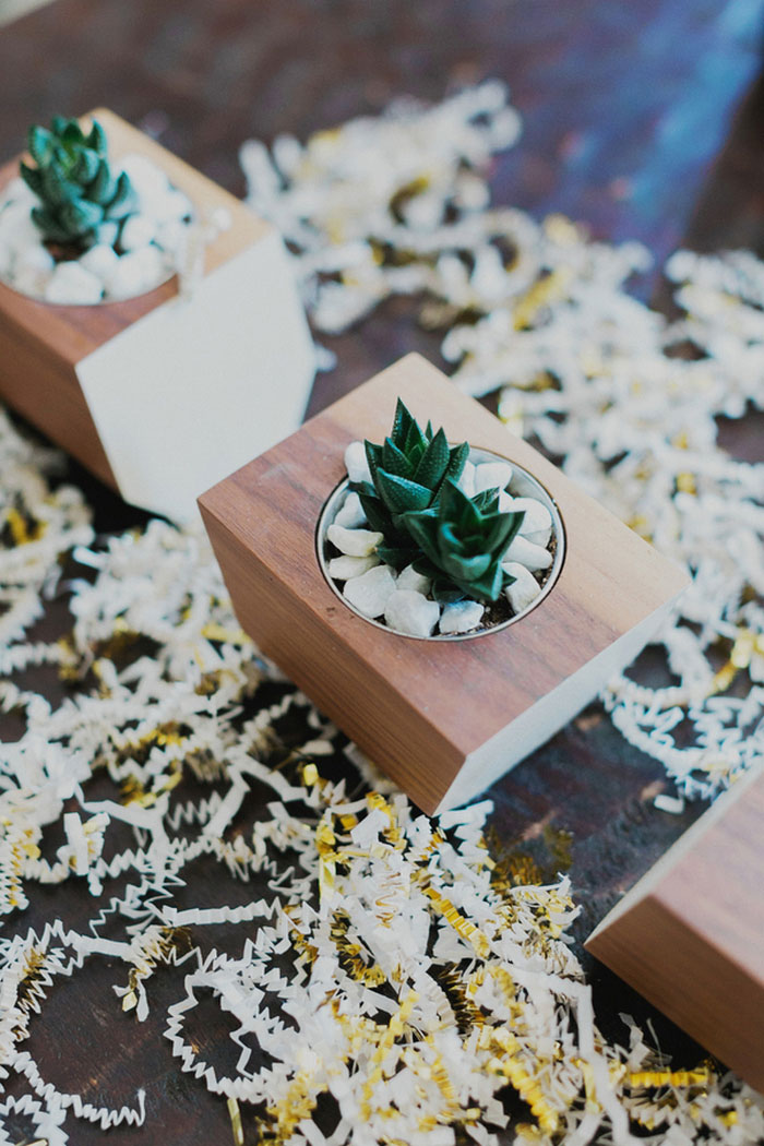 succulent wedding deor
