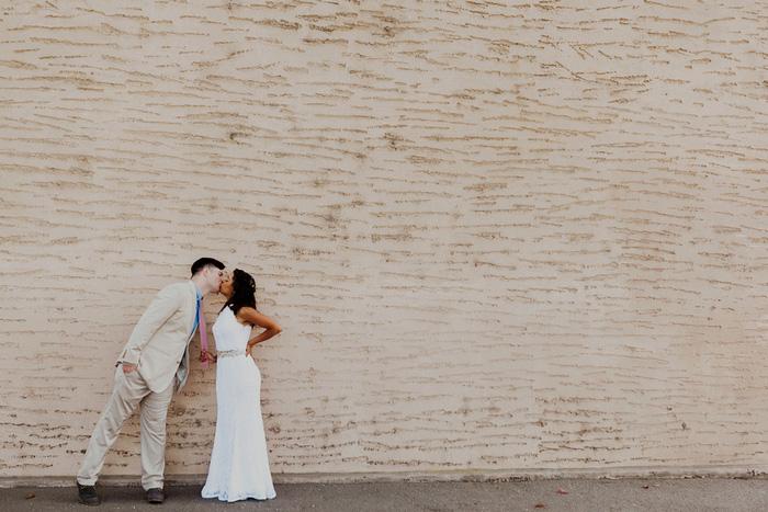 bride and groom portrait in San Francisco