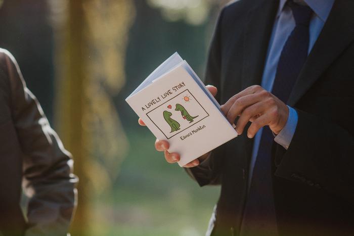 wedding ceremony in Sequoia National Park