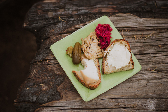 wedding picnic food