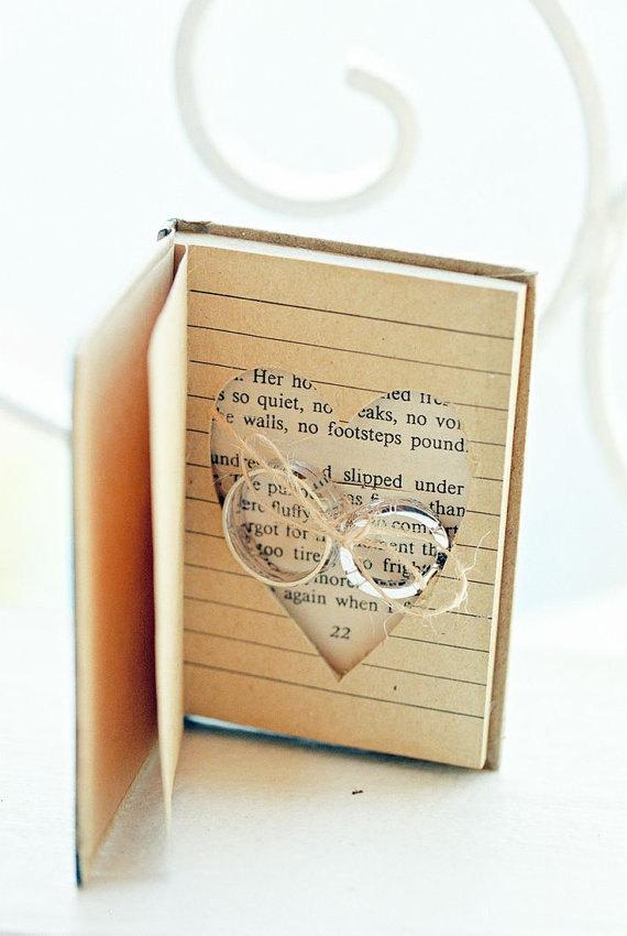 book ring bearer box
