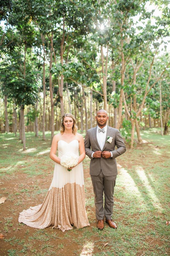 wedding portrait in Hawaii