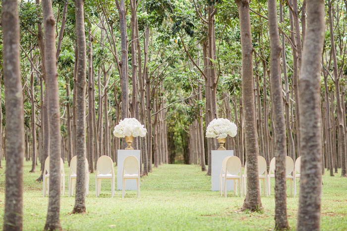 Hawaii wedding ceremony site
