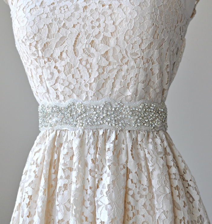 Rhinestone Belts For Wedding Dresses 19 Lovely jewelled sash