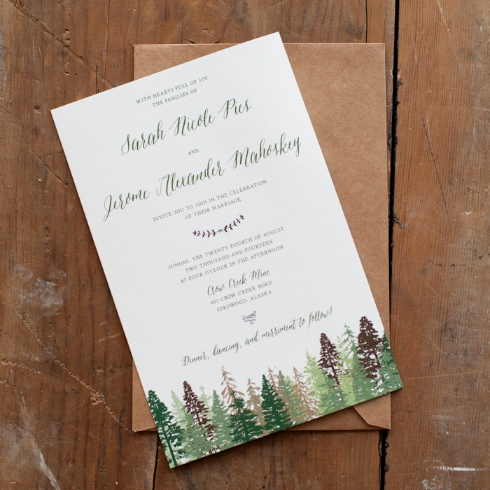 The Perfect Rustic Invitations For Your Country Wedding Intimate