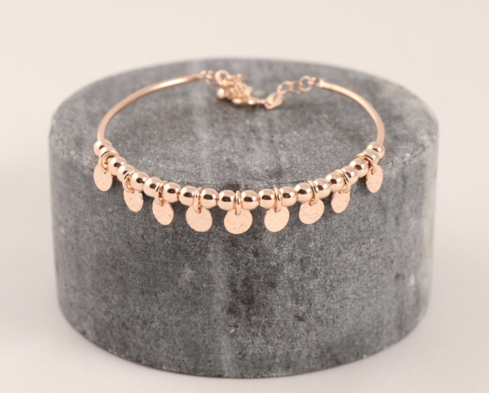 boho rose gold bracelet