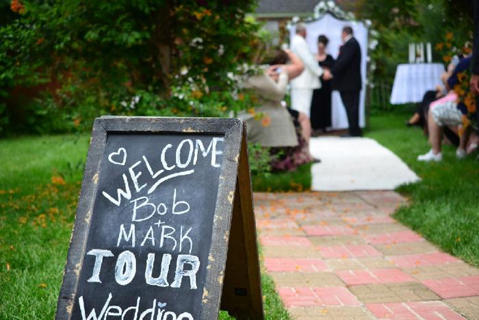 garden wedding site, chicago nw suburbs