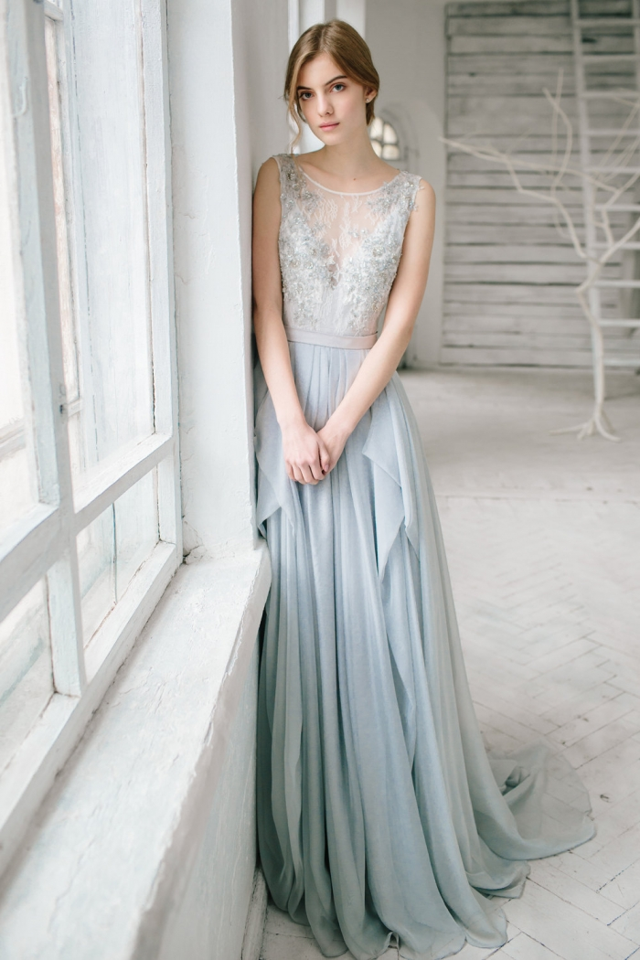 Perfect Pastels: Wedding Dress Edition | Intimate Weddings - Small ...