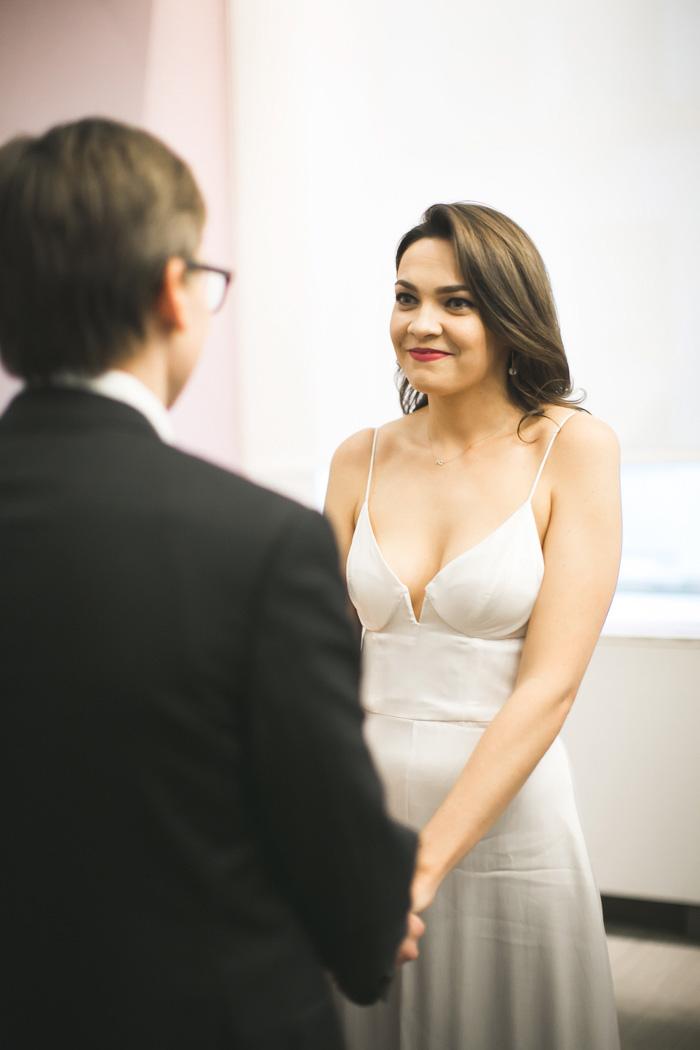 city hall elopement ceremony