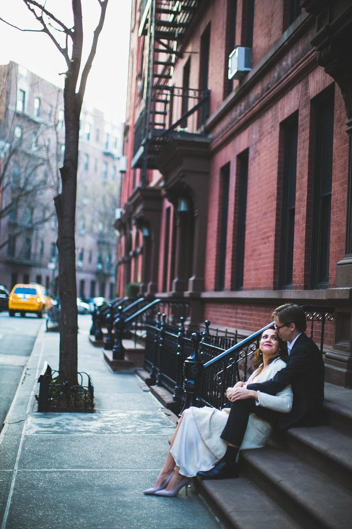 Brooklyn wedding portrait