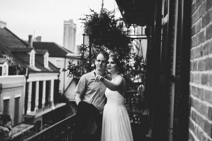 wedding portrait in New Orleans