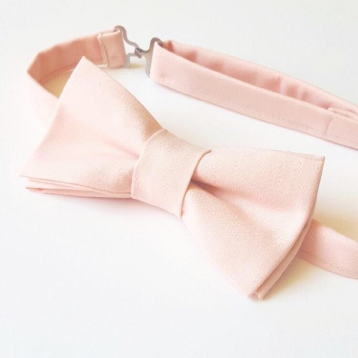 blush bowtie