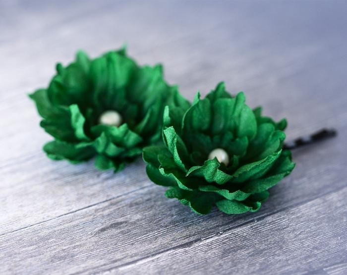 flower hairpins