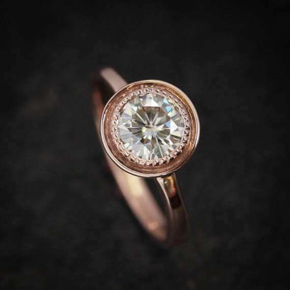 rose gold engagement ring 19
