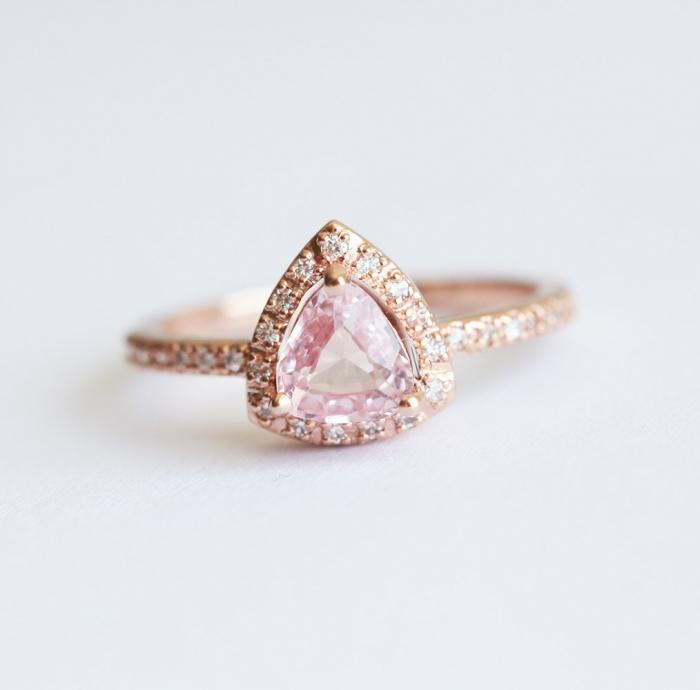 rose gold engagement ring 3