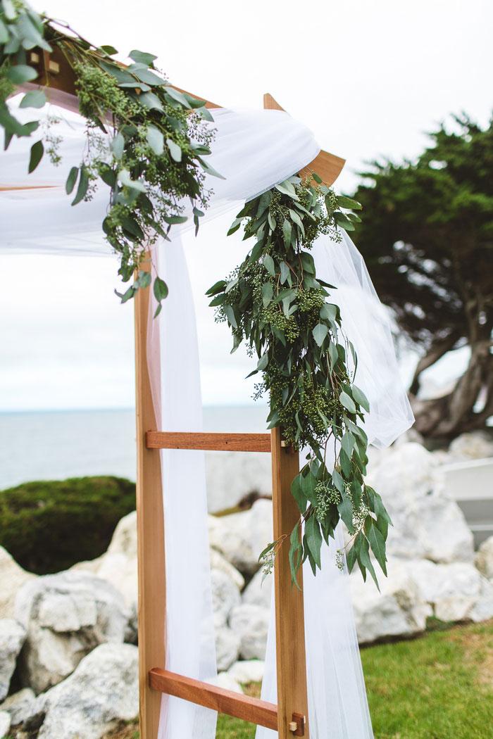 wedding arch details