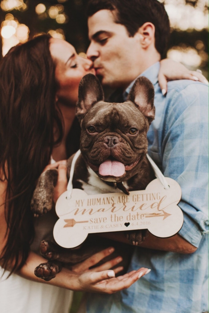 wedding dog sign