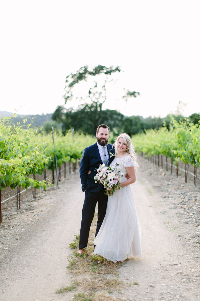 Sonoma wedding portrait