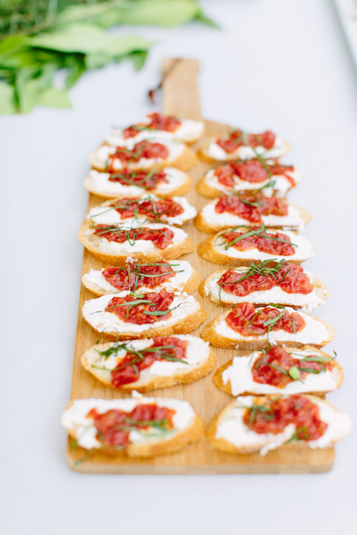 board of bruschetta