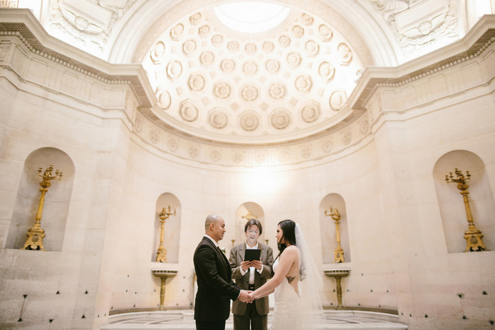 Chapelle Expiatoire elopement ceremony