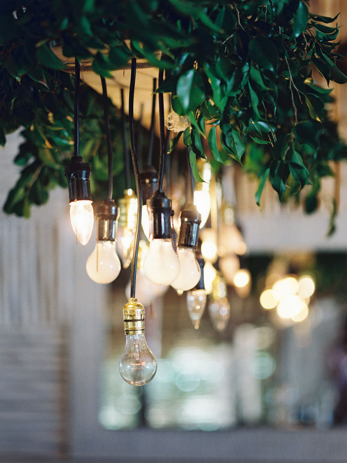 hanging lightbulbs