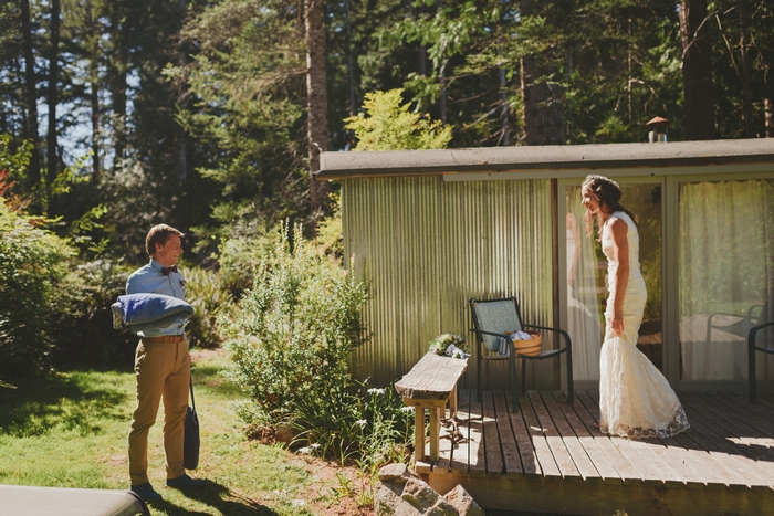 hornby island british columbia elopement