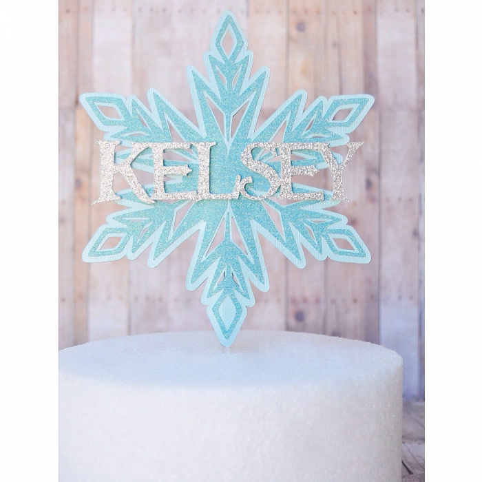 frozen-cake-topper
