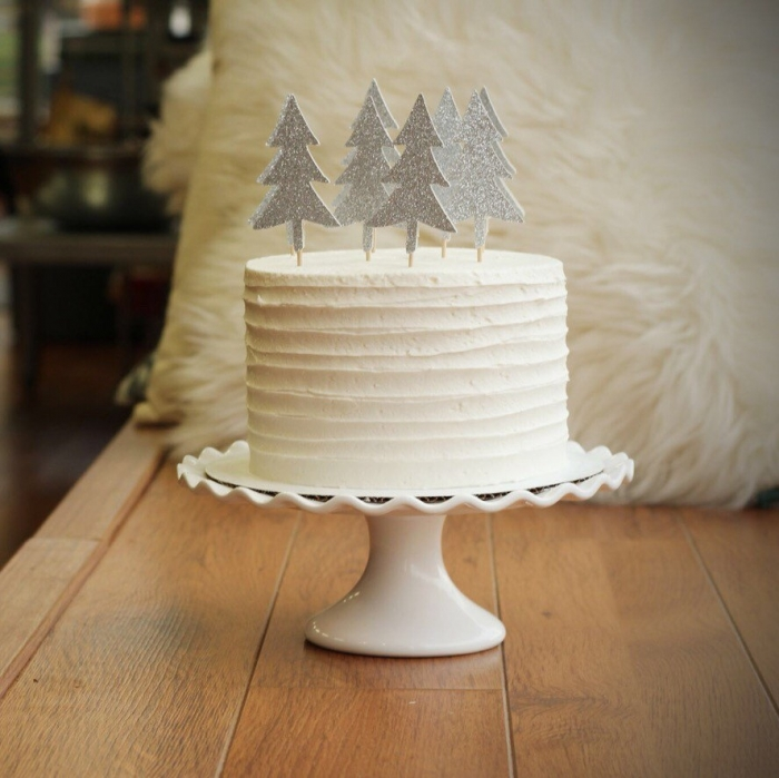 glitter-christmas-tree-cake-topper