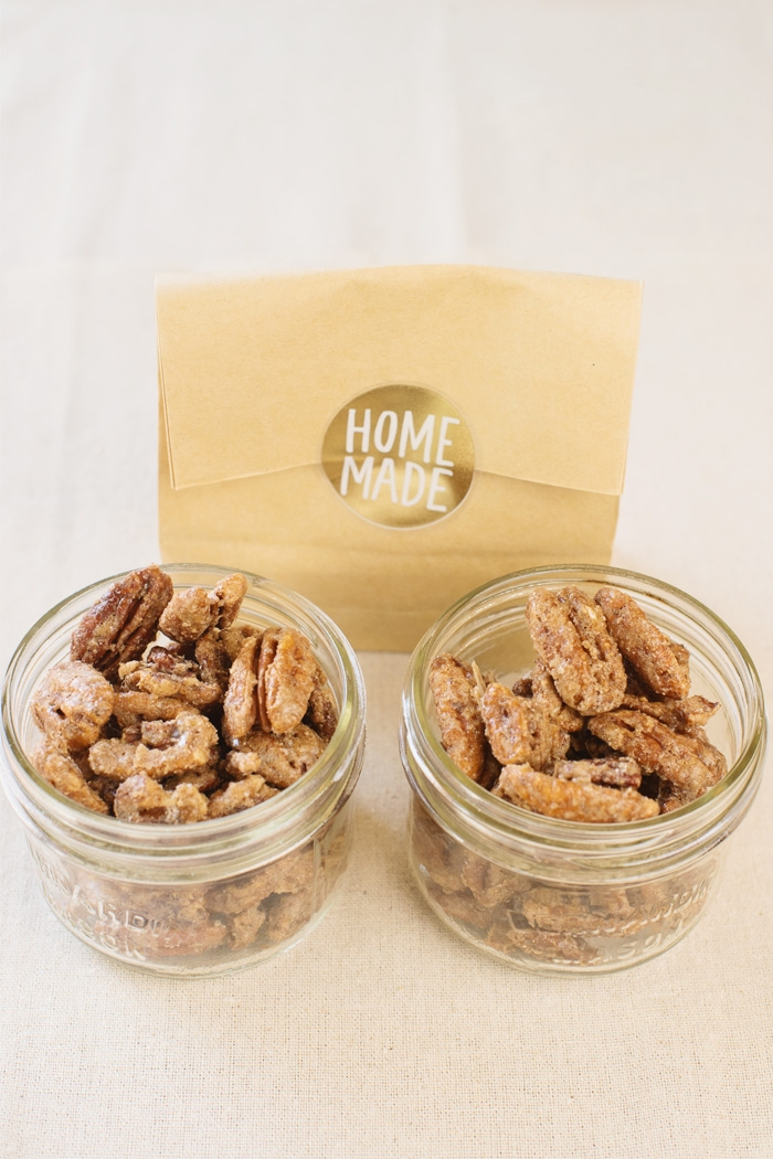 pumpkin spice candied nuts